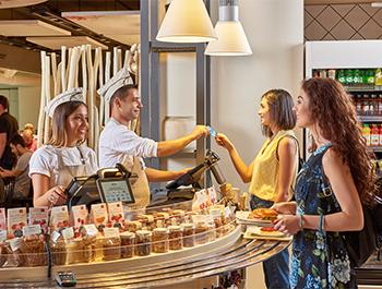 Продавници и ресторани